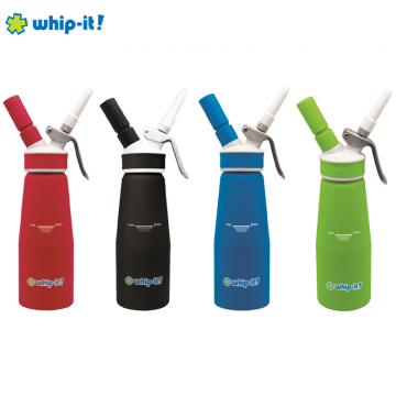 WHIP-IT 1/2 LITER ACCENT SERIES DISPENSER (FOOD PURPOSE ONLY)