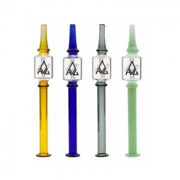 8 IN AVG TWIST COLORFUL DAB STRAW 1ct/pk