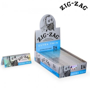 ZIG ZAG ULTRA THIN 1¼ ROLLING PAPERS 32ct/ 24 BOOKLETE