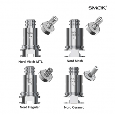 SMOK NORD REPLACEMENT COILS 5ct/PK